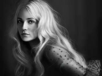 Diane Kruger portrait by Mathurin156