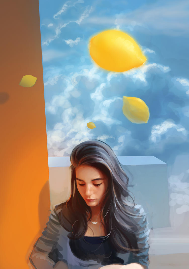 Emma In The Sky With Lemons by Mathurin156