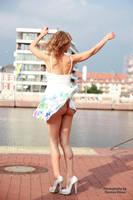 Anna in a summer dress 1 by PhotographyThomasKru
