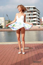 Anna in a summer dress 4 by PhotographyThomasKru
