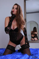 Jana in black lingerie 12 by PhotographyThomasKru