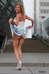Anna in a summer dress 10 by PhotographyThomasKru