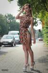 Lisa in summer dress 5