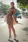 Lisa in summer dress 8