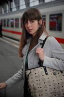 Emelie at the station 3 by PhotographyThomasKru