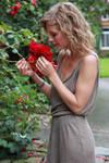 Anna the flower girl 1