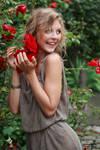 Anna the flower girl 2