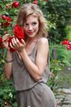 Anna the flower girl 3