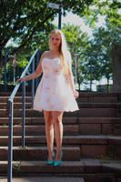 Vanessa S. in summer dress 1 by PhotographyThomasKru