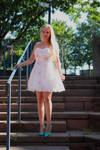 Vanessa S. in summer dress 1
