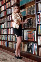 Jana the librarian 1 by PhotographyThomasKru