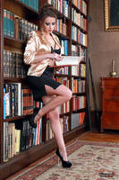 Jana the librarian 5 by PhotographyThomasKru