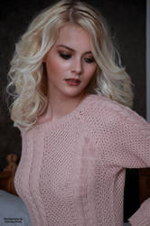 Pink Sweater 6 by PhotographyThomasKru