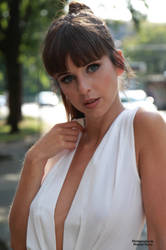 Emelie in white top 61 by PhotographyThomasKru