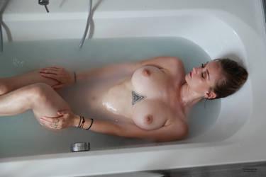 In the bathtub 06 by PhotographyThomasKru