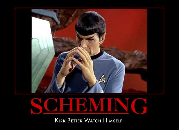 Spock's Got An Evil Plan by Werelover969