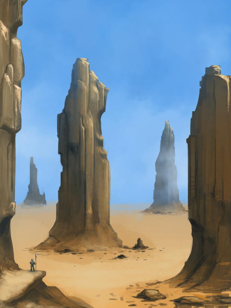 Desert warmup by Earl-Graey