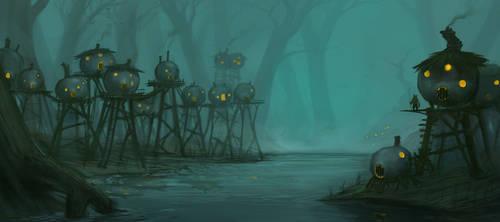 SwampTown by Earl-Graey