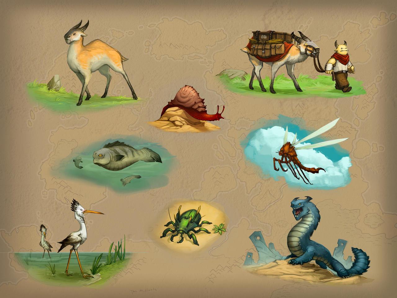 ► Viens proposer une espèce Creature_concepts_by_corndoggy-d64aylt