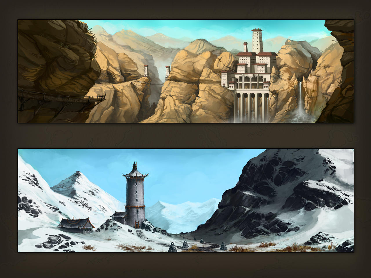 Environment Concepts by corndoggy