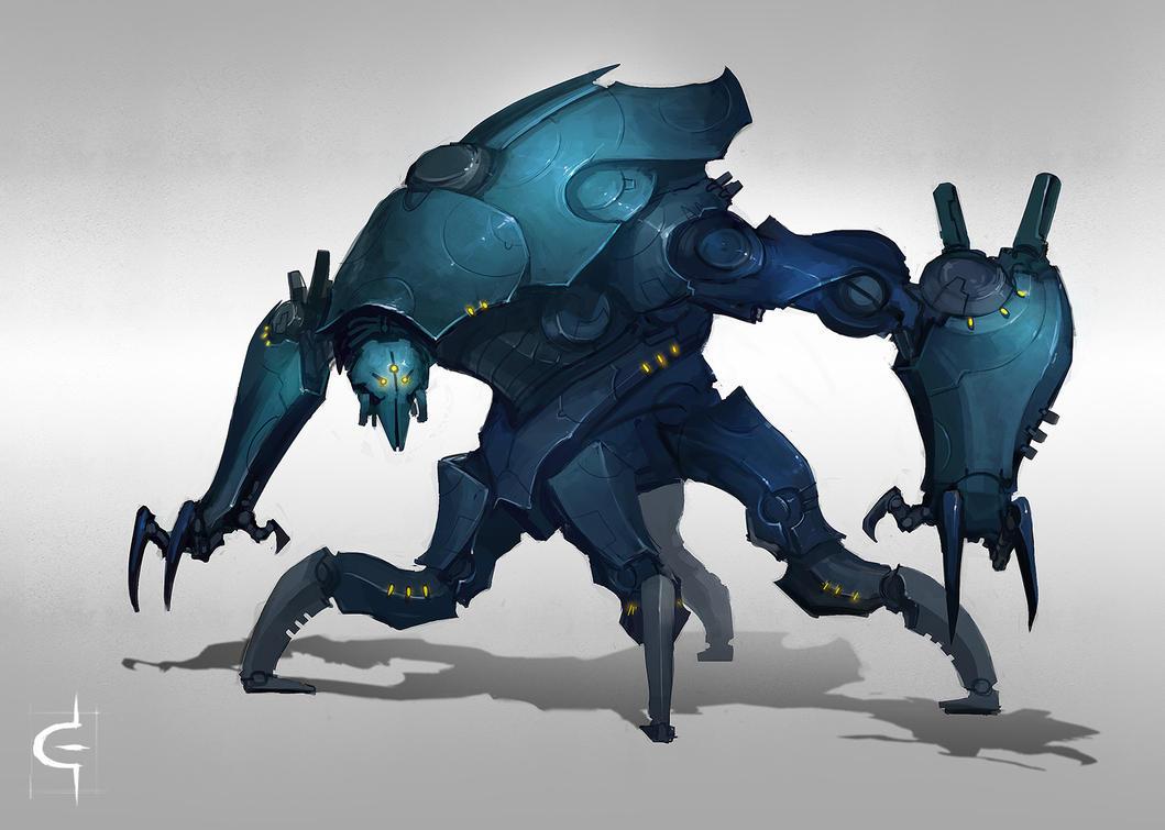 Bluebot by corndoggy