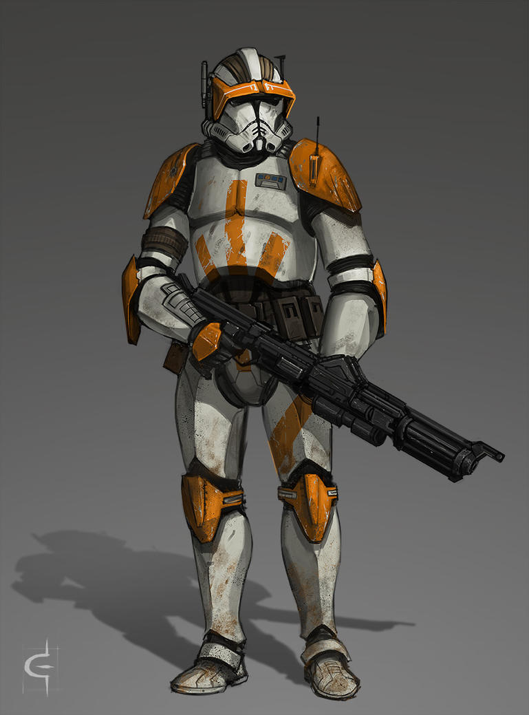 Commander Cody by corndoggy