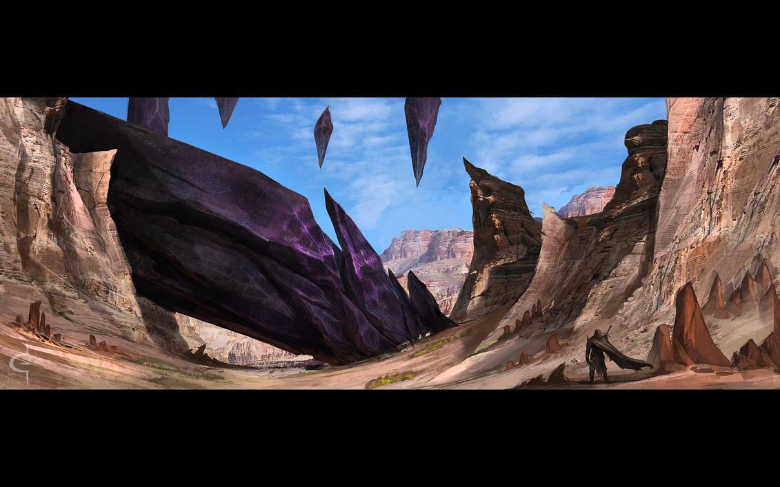 The Fallen Shard by corndoggy