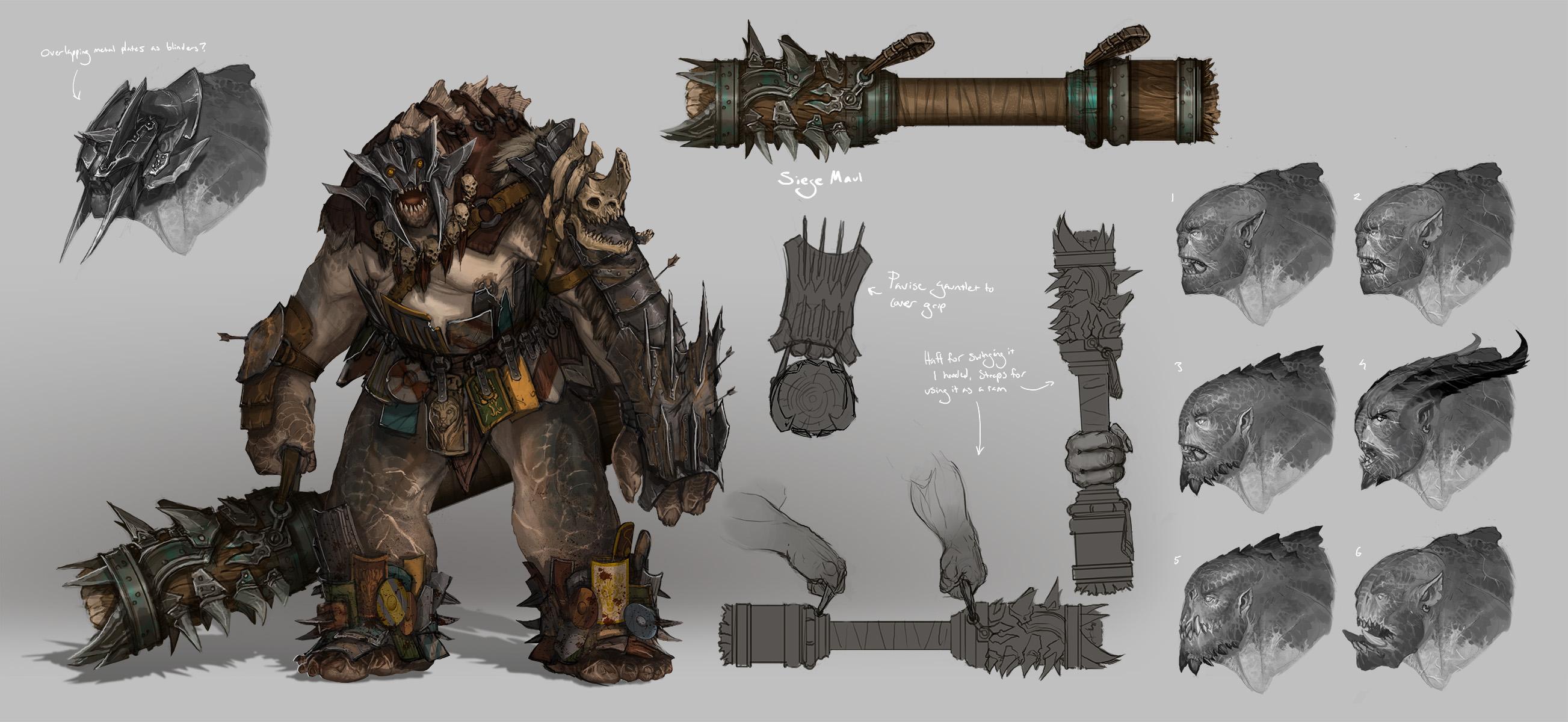 Siege Beast by Earl-Graey