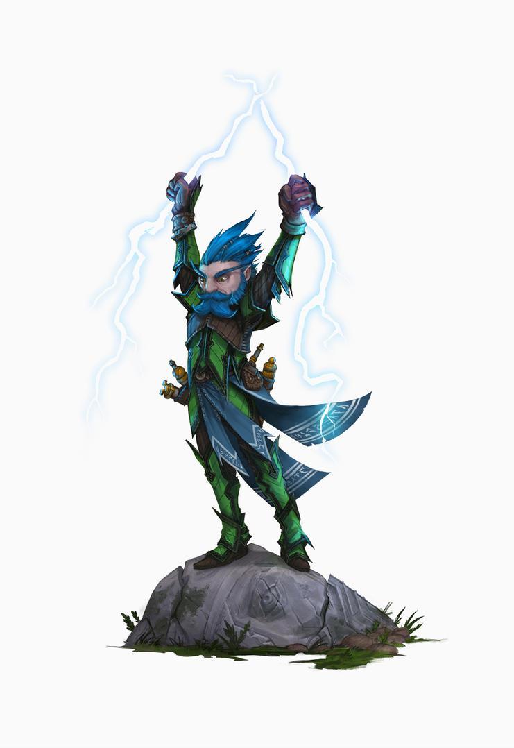 Lightning Priest by Earl-Graey