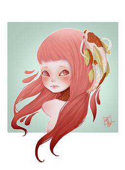 Carp girl