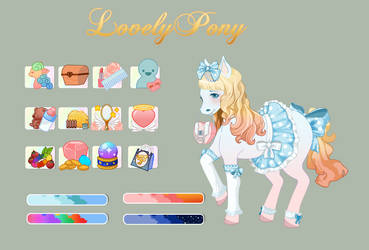 Pony Dressup Mockup