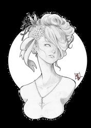 Ebony Portrait