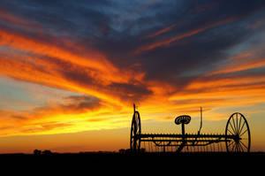 The Rake Sunset by theshepherd1