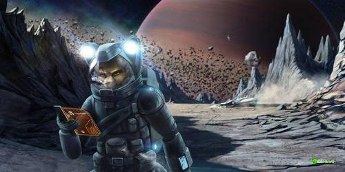 Asteroid acident [COM] by Cereus93