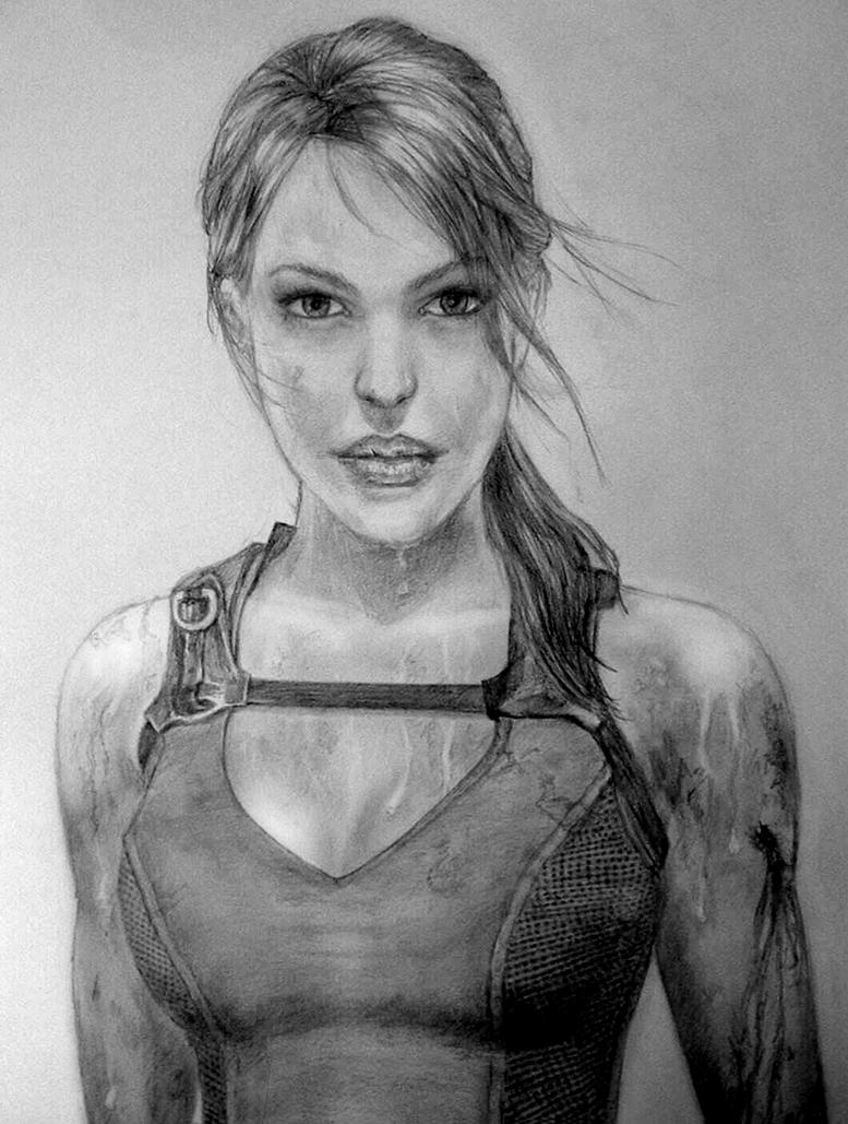 Tomb Raider Underworld Lara - by Cam-e