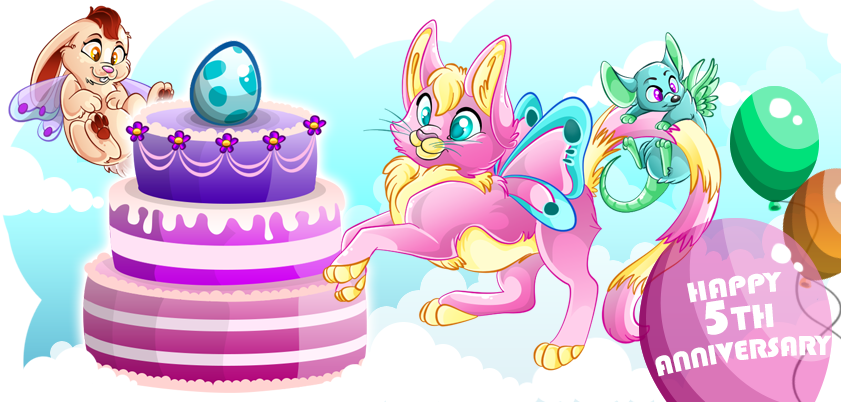 Happy Birthday Ovipets by Mantilein