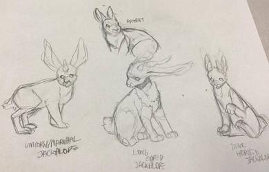 Art Class Doodles by wumpth