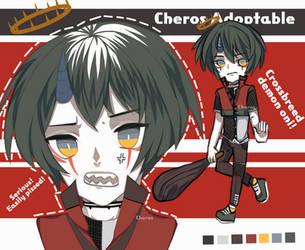 (OPEN) Auction Dangerous Oni by cher-os