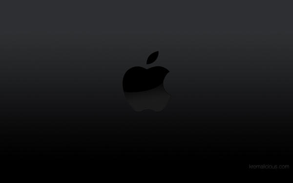 apple logo white on black. apple logo wallpaper black by kremalicious white on