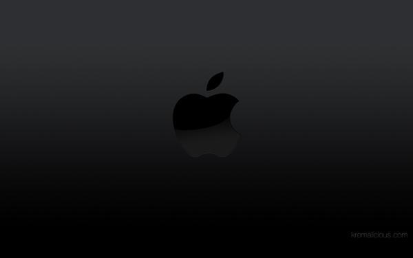 Apple Logo Wallpaper Black By Kremalicious On Deviantart
