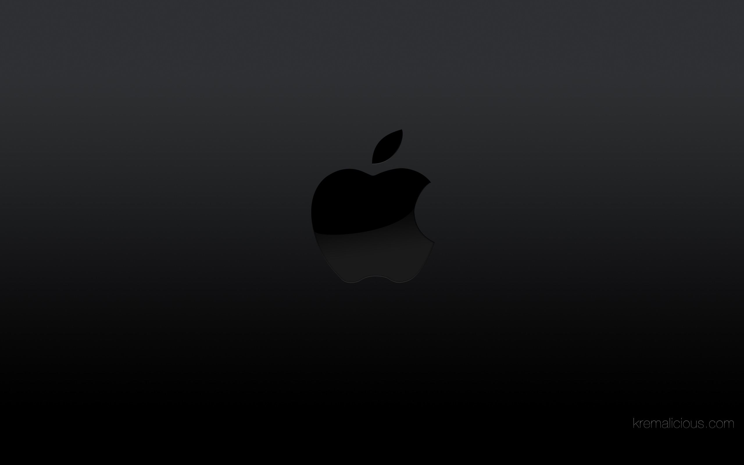 04 black apple logo wallpaper available in resolution 2560px 1600px