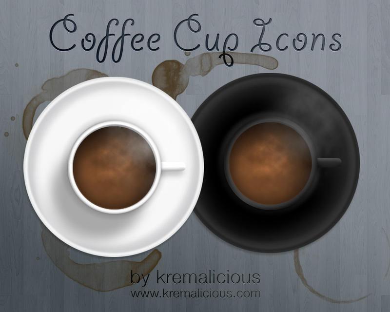 Coffee Cup Icons by kremalicious