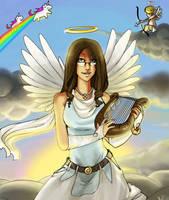 Angelish by Zxxo