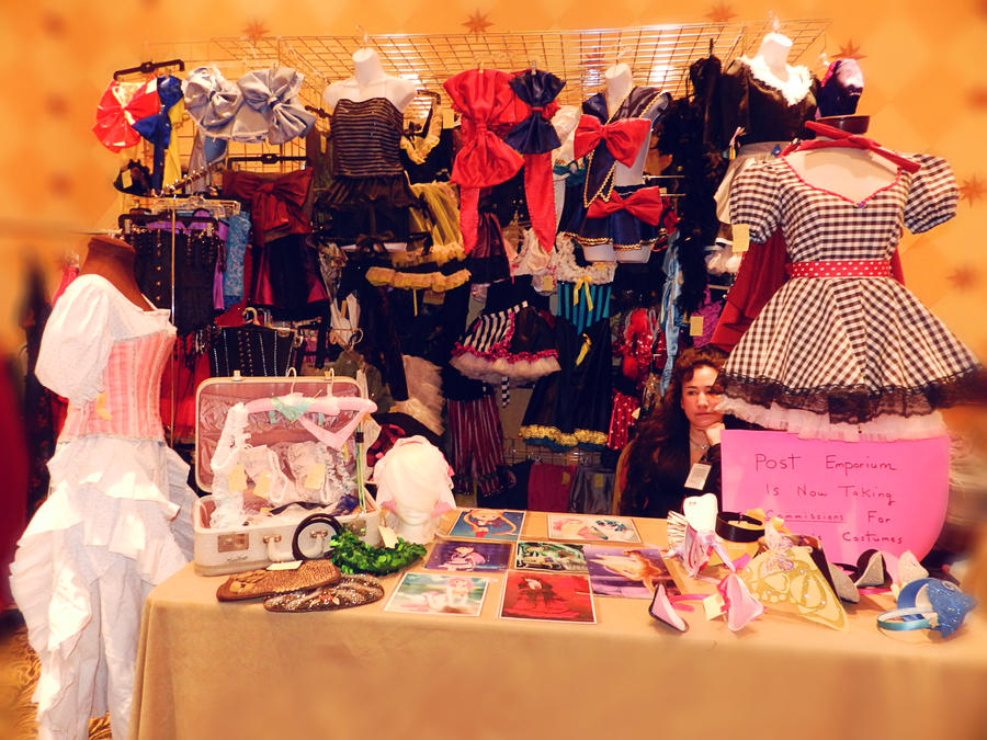 Ikkicon 2012 Booth by Treacly