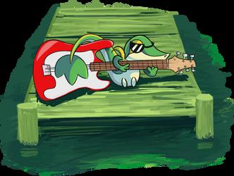 Swamp snake by YattaroSB