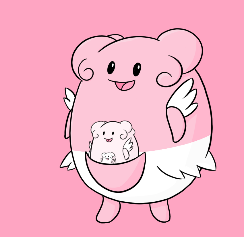 How To Draw Pokemon Blissey