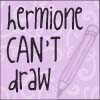 Hermione Can't Draw by awesome-silver-hand