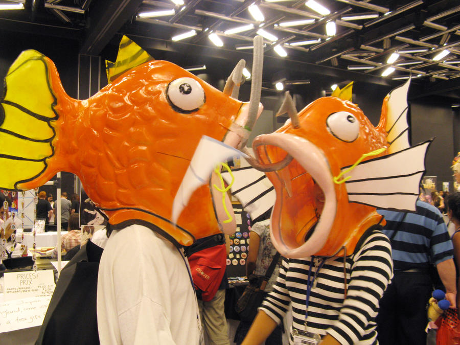 otakuthon 2010 Magikarp People by WhimsicalArtisan