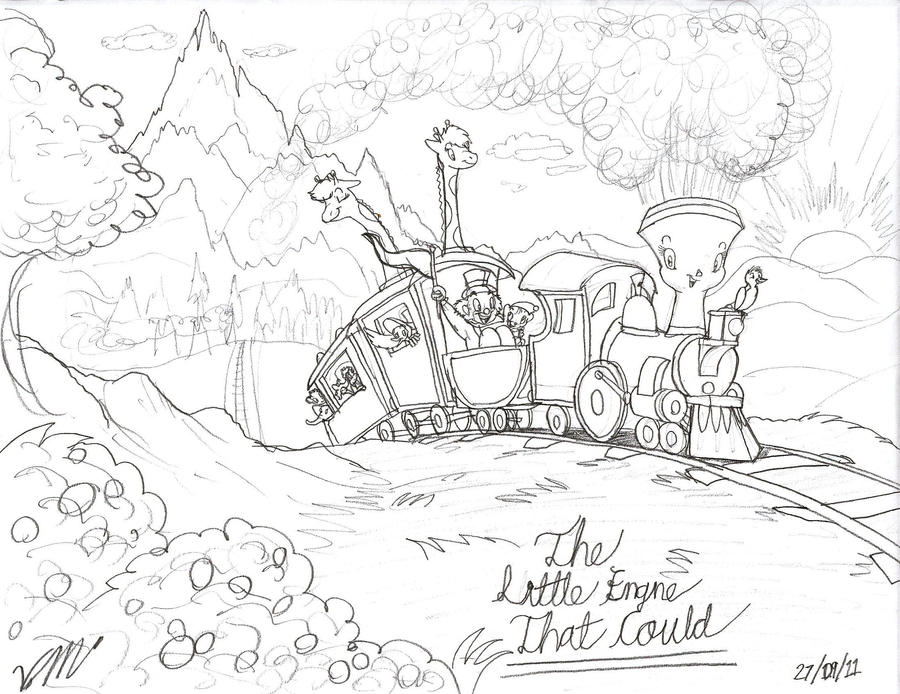 the little engine that could by the victor catbox on deviantart