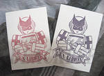 [Rubber Stamp] Transformers - Ratchet